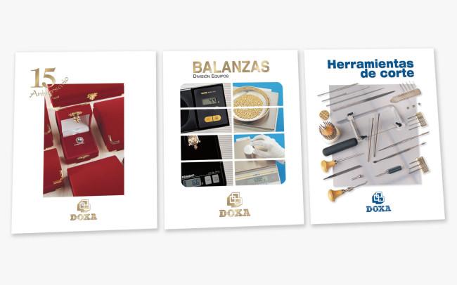 Diseño, Producción, Fotografía de Catálogos para Doxa