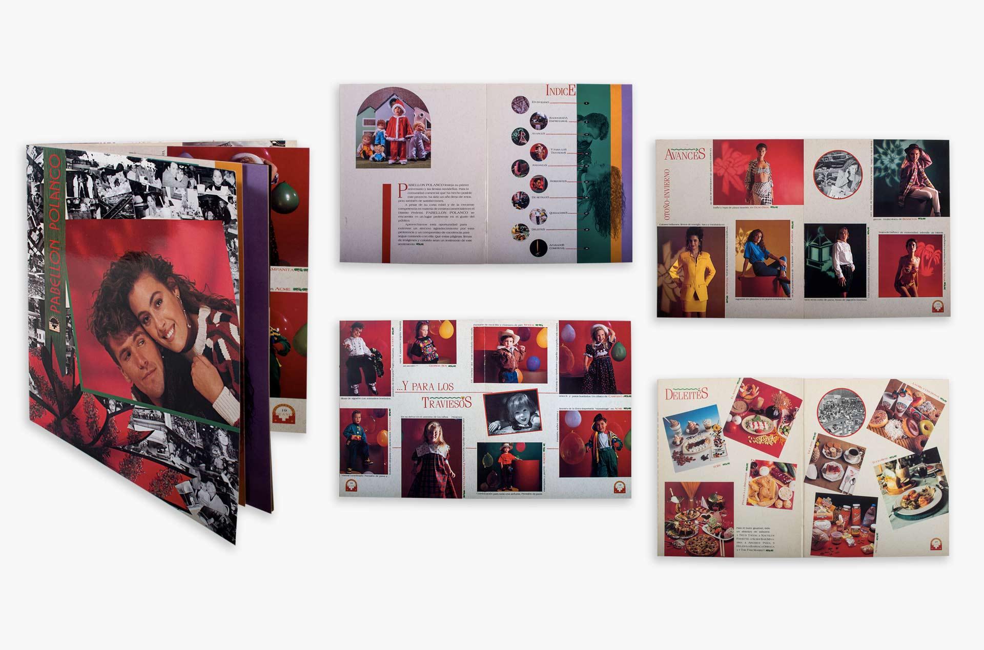 Catálogo para Pabellón Polanco