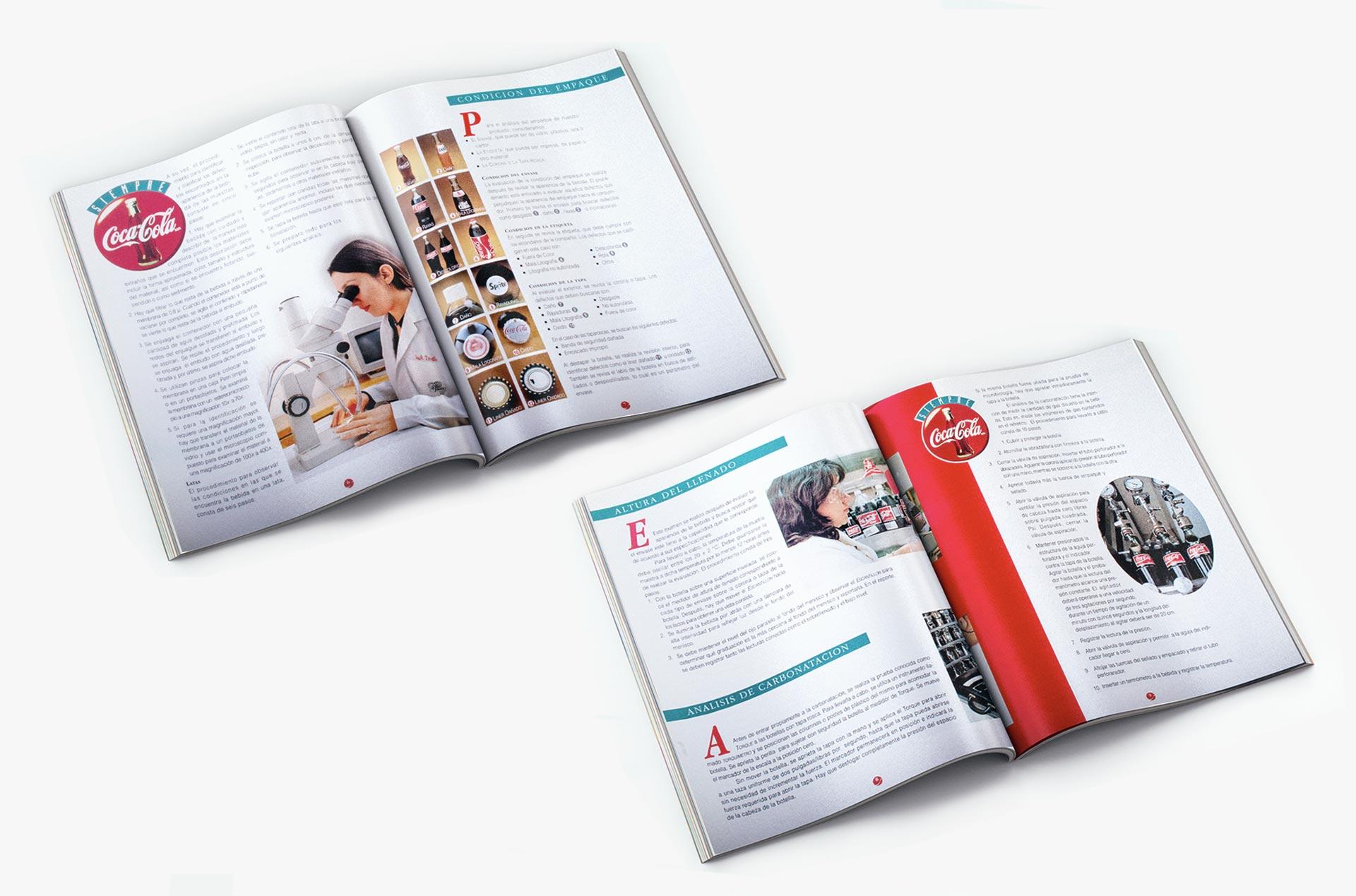 Diseño, fotografía, redacción de textos, producción de manual
