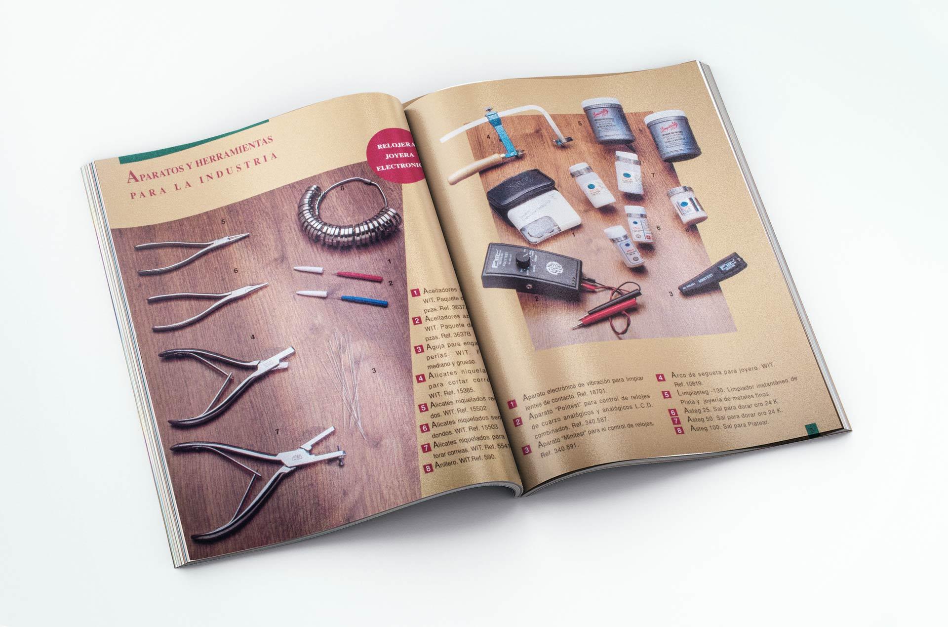 Catálogo para Indsutria Joyera Comtesa