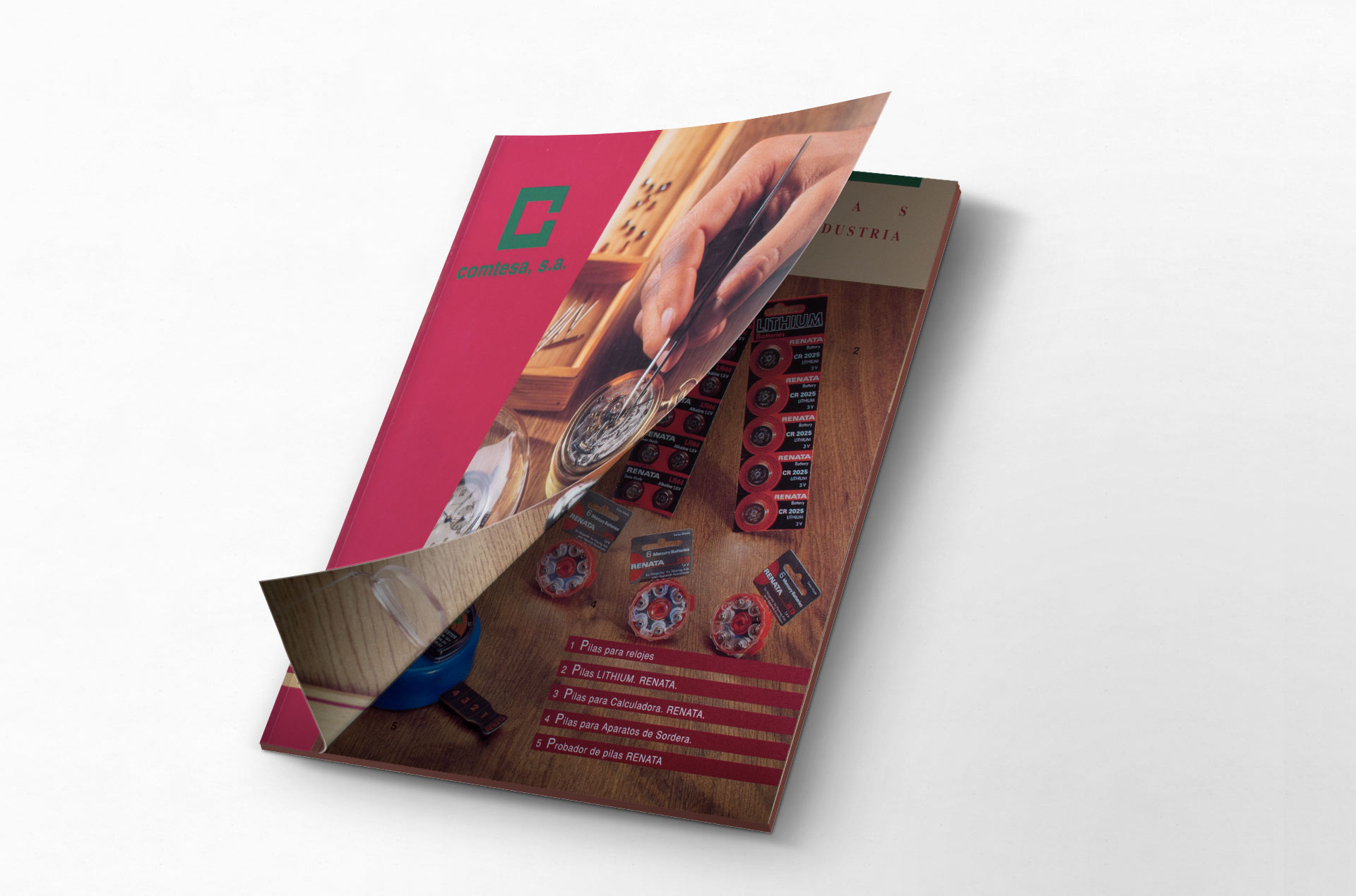 Catálogo Comtesa