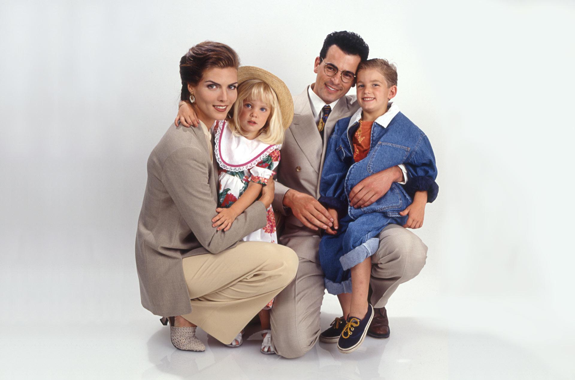 Fotografía de familia Feliz para Catálogo