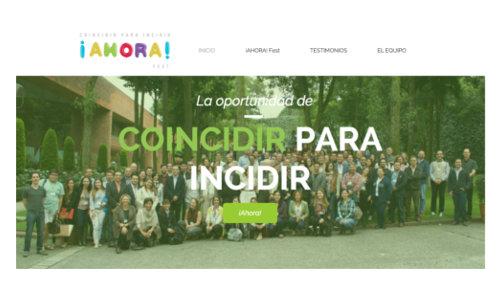 coincidir para incidir portada sitio ahora fest arquitectura ibero
