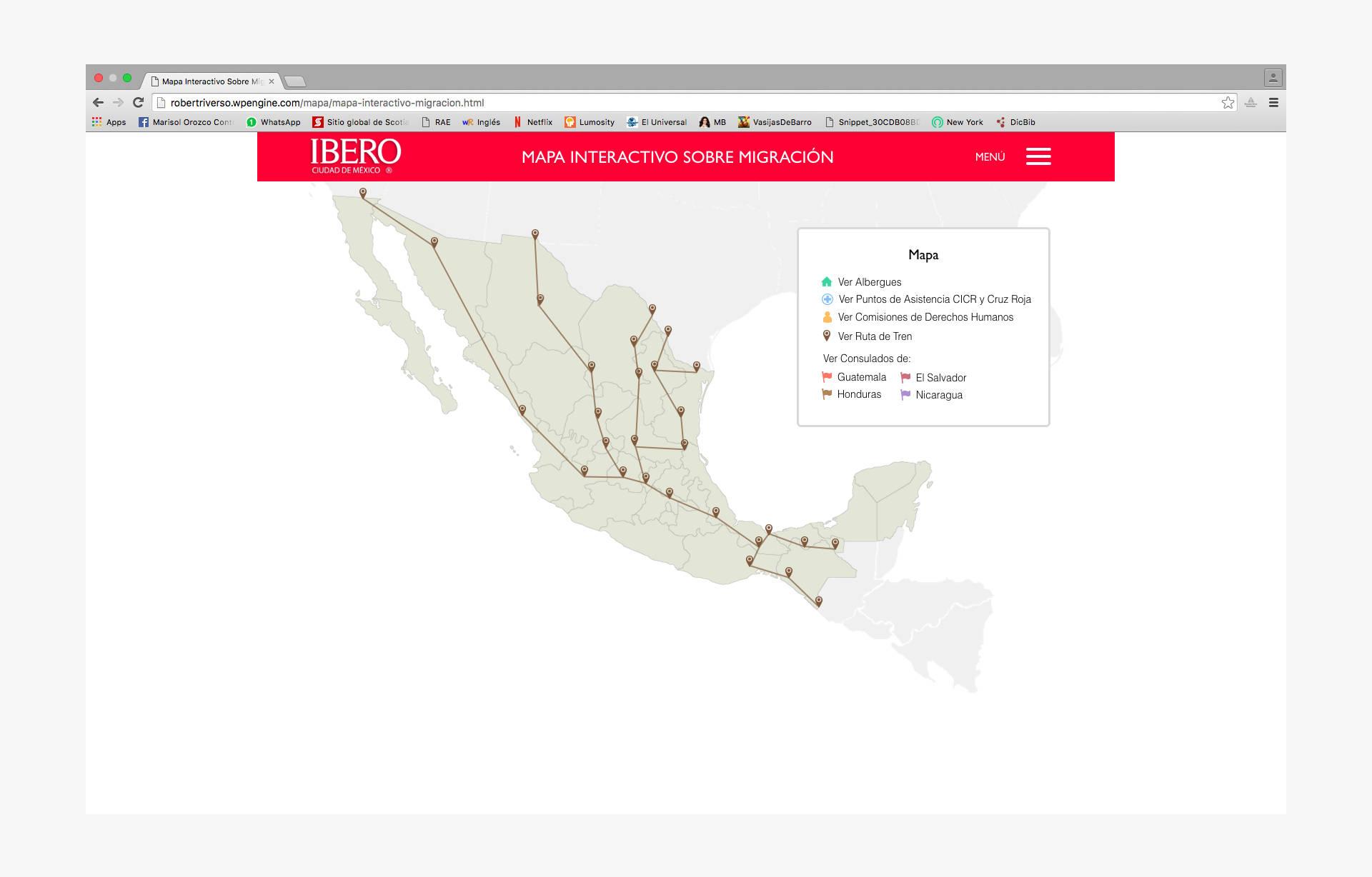 portada del mapa interactivo