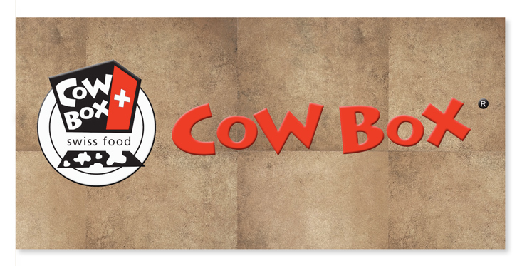 Logotipo Cow Box