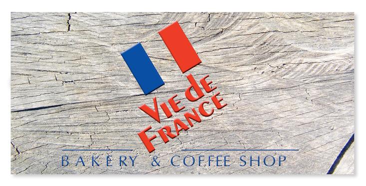 Diseño Logotipo Vie de France