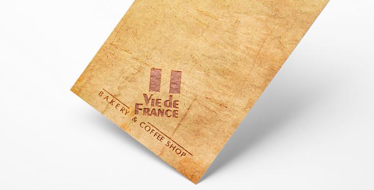 Diseño logo Vie de France