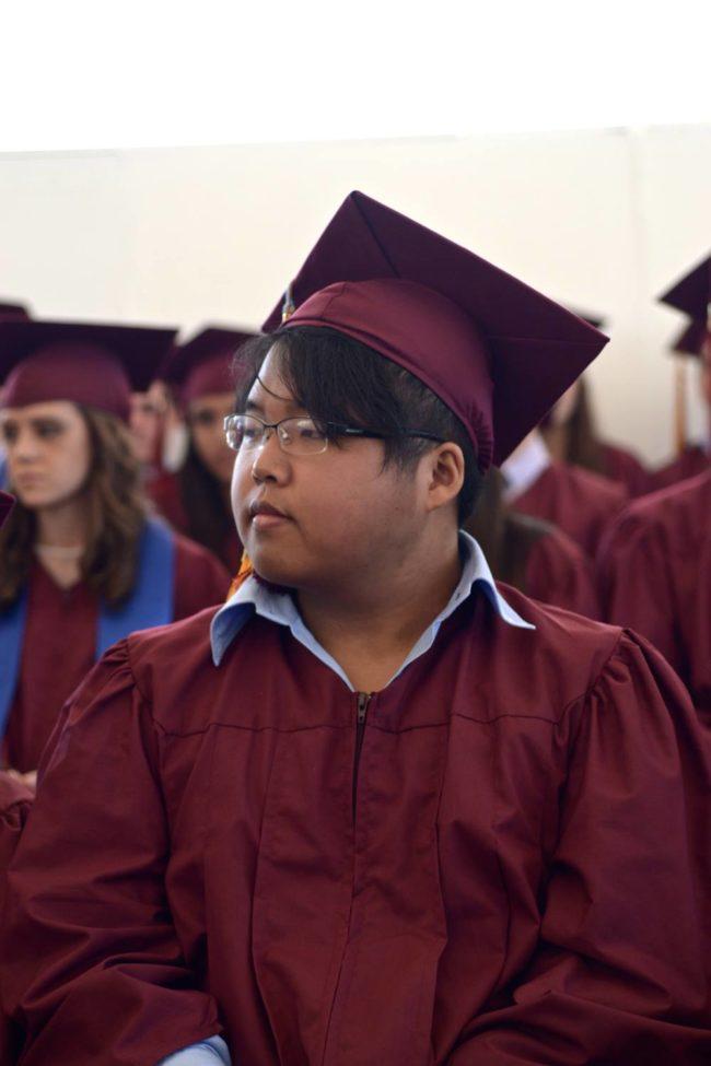 Graduación de preparatoria en ASF, colegio americano