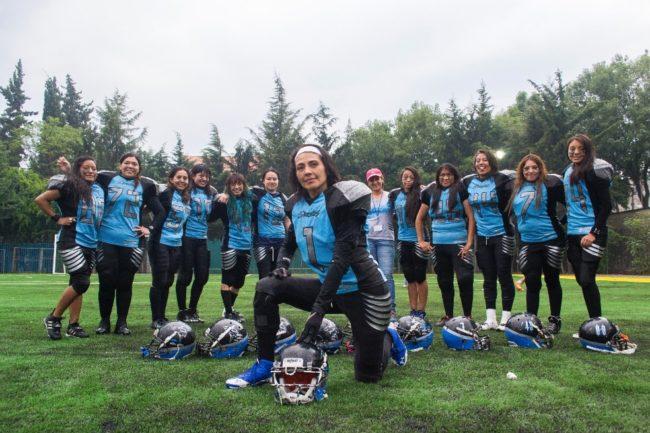 fotografía deportiva - equipo de futbol de americano