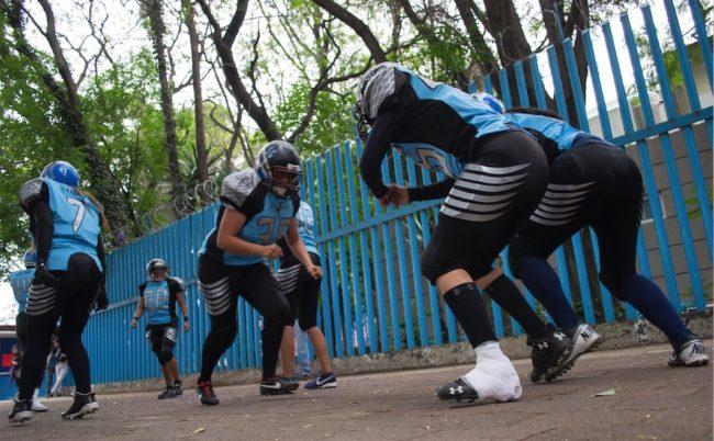 fotografía deportiva - juego de americano