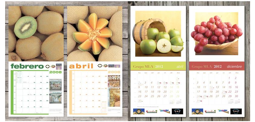 Diseño de Calendarios Promocionales