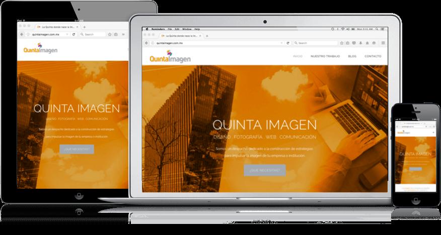 Diseño de sitios web que se ven bien en celulares, laptops y tabletas (ipad)