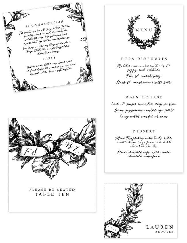 ilustracion hecho a lapiz para invitacion de boda y boletos en blanco y negro